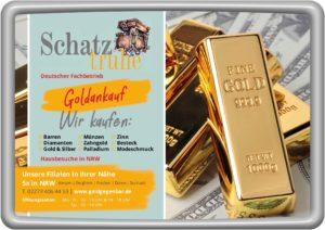 Goldbarren und Goldankauf