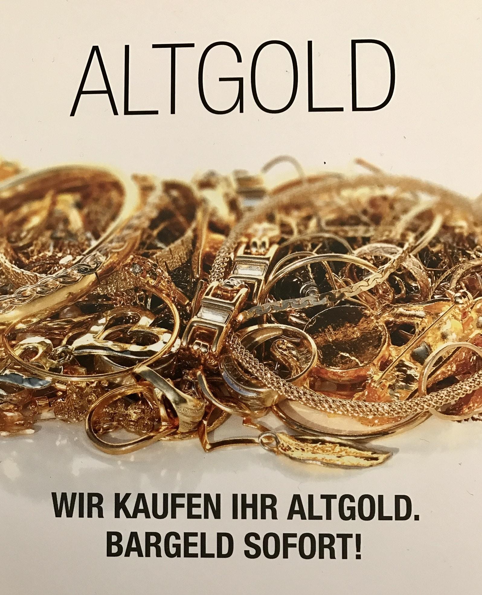 Verkaufen Sie Ihr Altgold