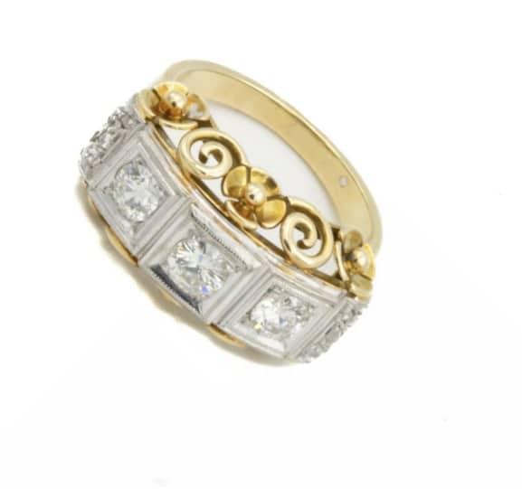 Diamantring verkaufen