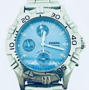 Fossil Uhr verkaufen