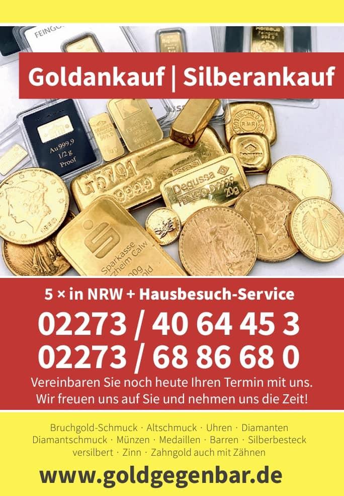 Wo am Besten Gold verkaufen?