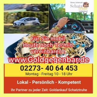 Goldankauf Mobil Lokal Persoenlich kompetent