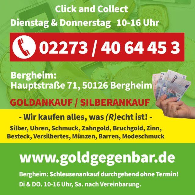 click&collect Goldankauf Bergheim