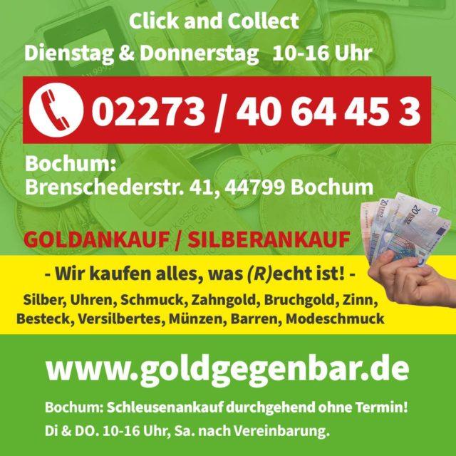 click & collect Goldankauf Bochum